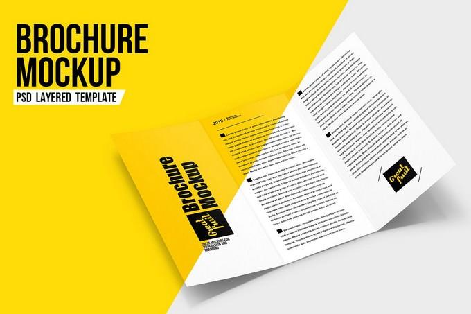 Brochure Leaflet PSD