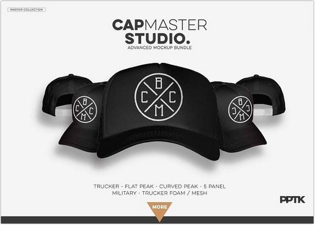 CAP MASTER STUDIO - Mockup Bundle