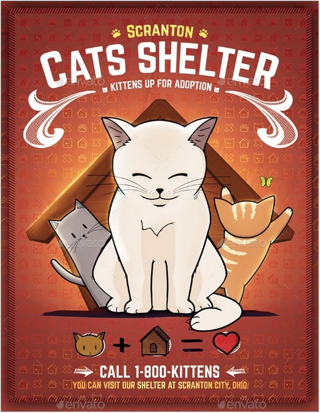 Kitten Rescues Promotional Template