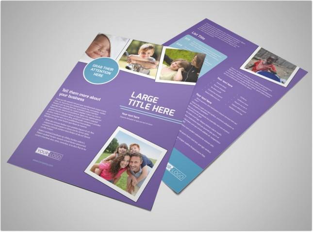 Child Adoption Services Flyer