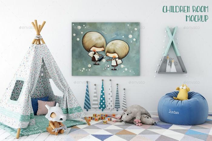 Children Room Mockup
