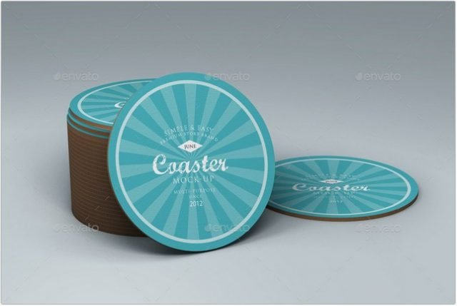 Coaster Mock-up psd