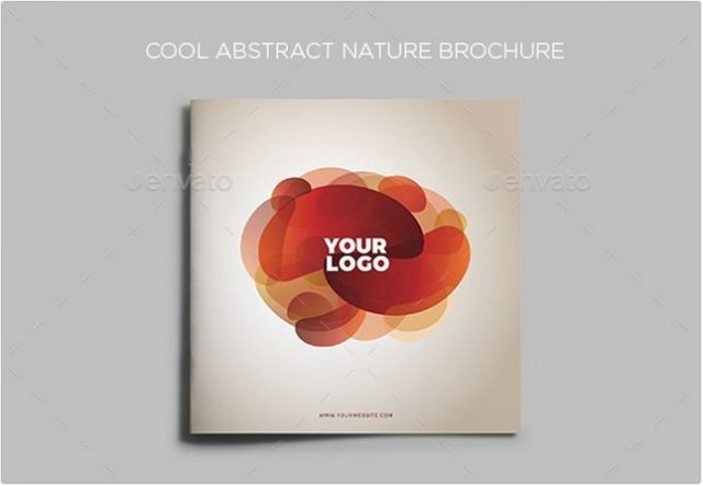 Cool Abstract Nature Brochure