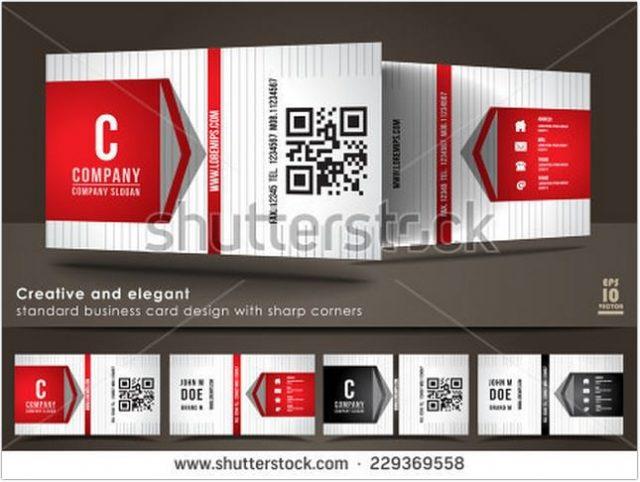 Creative Business Card QR Design
