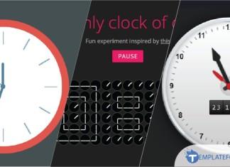 Clocks with CSS