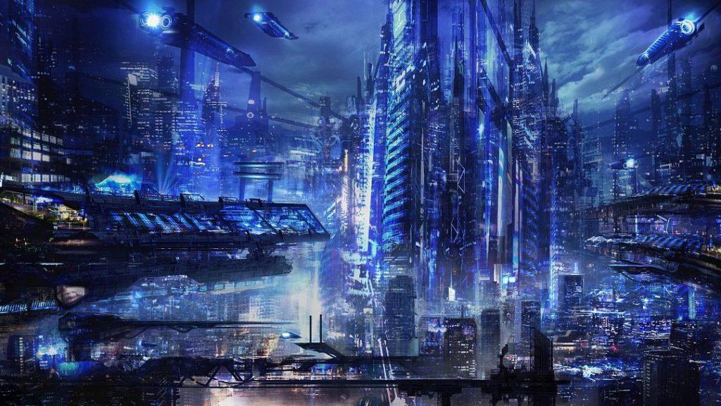 Cyberpunk hd 1080 × 607