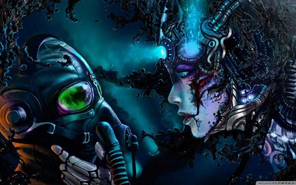 hd wallpaper Cyberpunk 1440 × 900