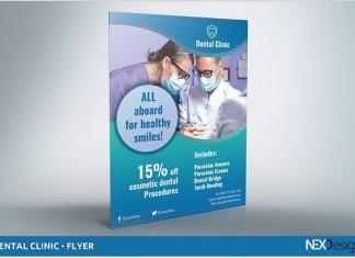 Dental Clinic - Flyer template