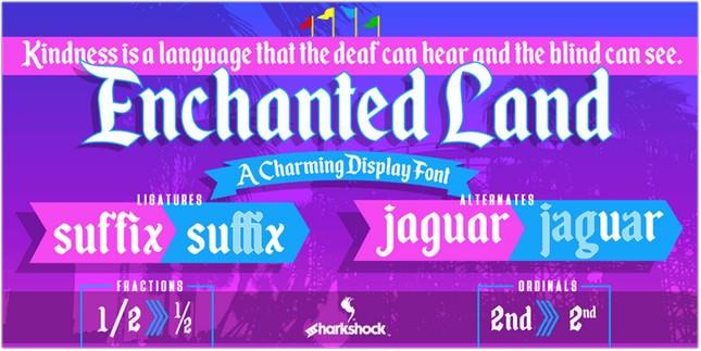 Enchanted Land Font free