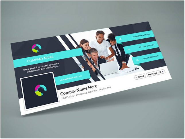 Facebook Cover Design Template