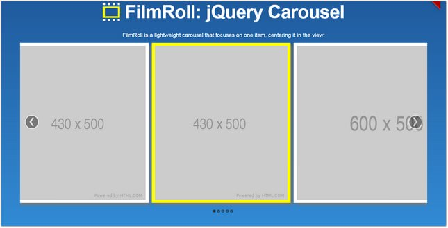 20+ Free jQuery Carousel Slider Plugins 2018 - Templatefor