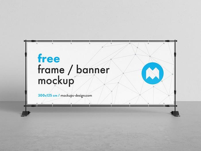 Free Banner Frame