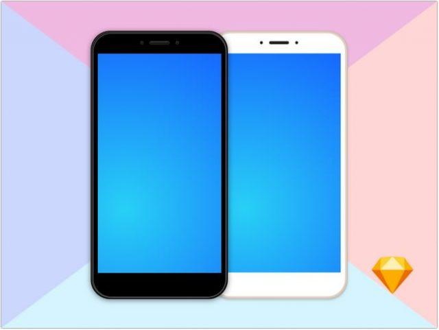 Xiaomi Mi Max 2 mockup free