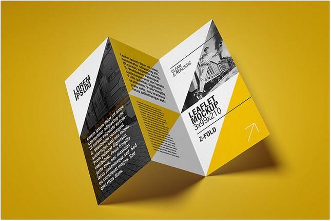 22+ Best Leaflet Mockups For Creative Designers - Templatefor