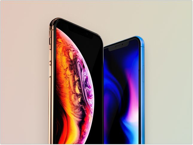 iPhone XS & XR mockup