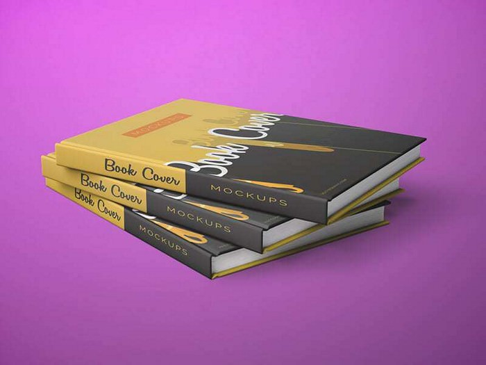 Front and Back Cover Book Mockups
