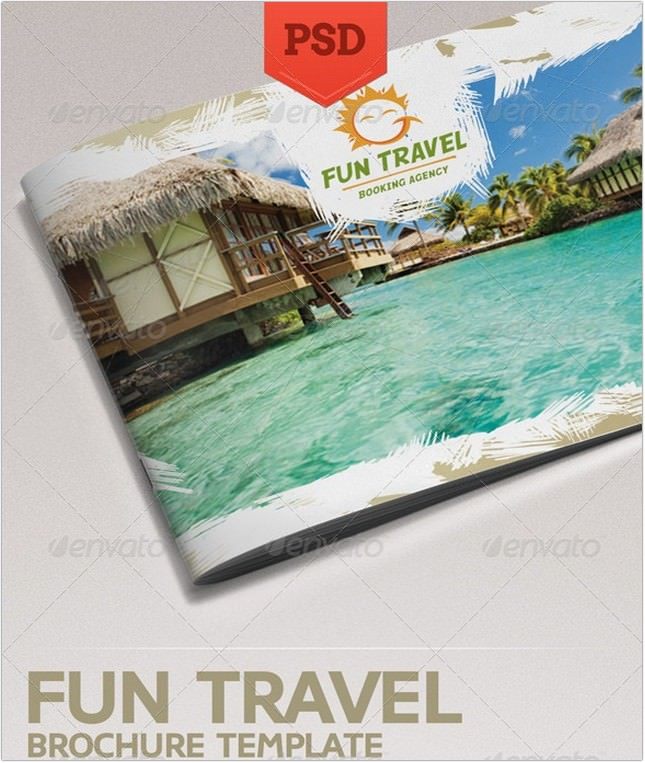 25 Best Travel Agency Brochure Templates Designs Psd Ai Format