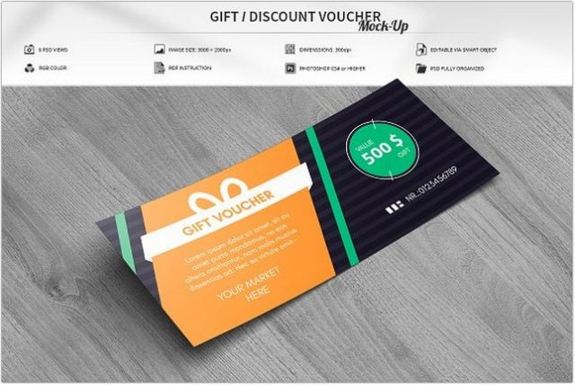 Gift Voucher Mock-Up