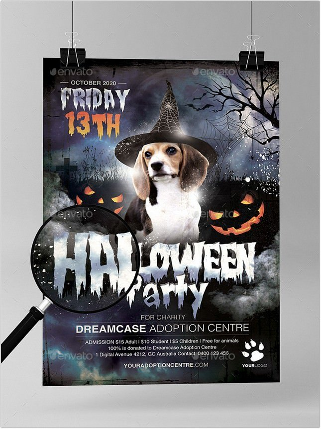 Halloween Party Animal Charity Adoption