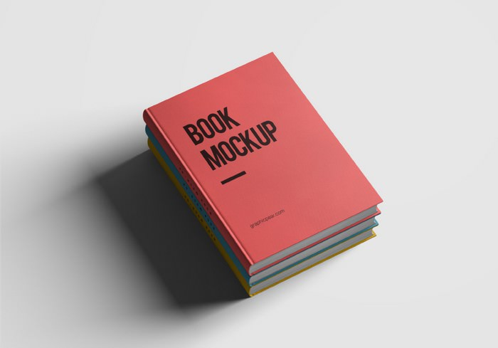 Hardcover Book Mockup Photoshop