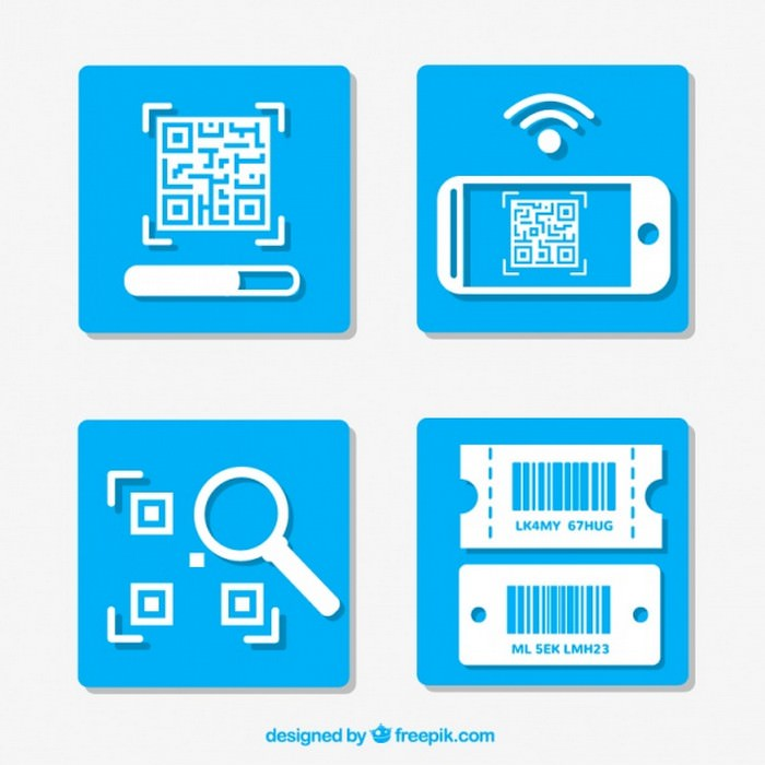 Instructions For Using A QR Code - Vector Free