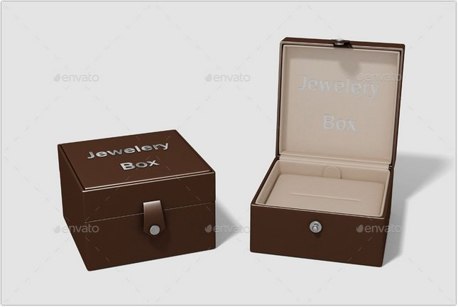 Jewelery Box Mock-up