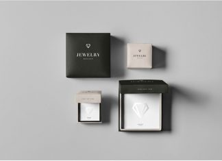 Jewelry Package Mock-up psd