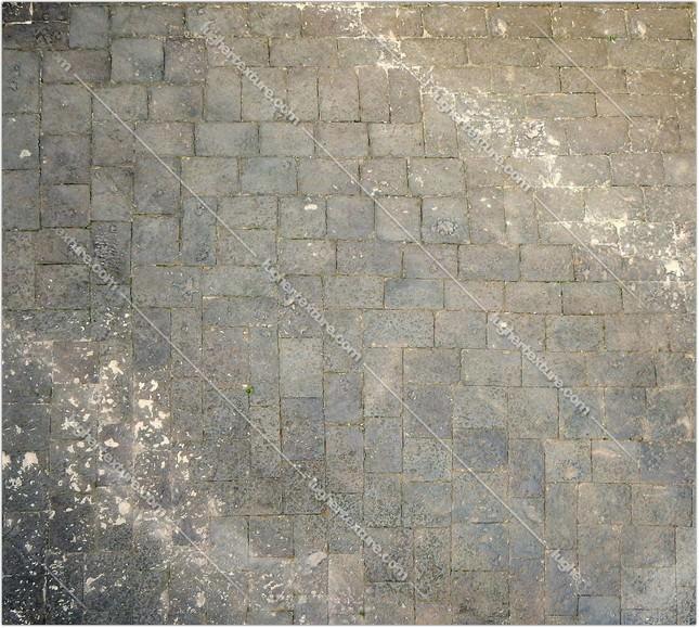 Medieval Black Lava Tiles Big