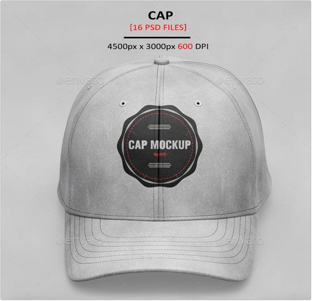 Mockup Baseball Cap psd
