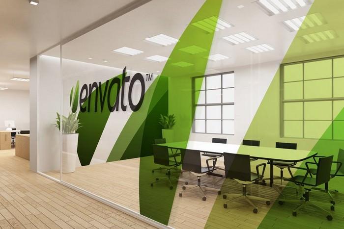 Office Interior Branding Mockups