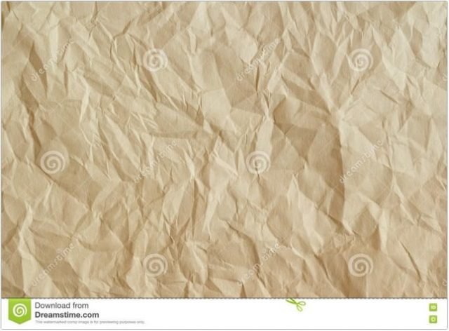 Old Crumpled Parchment Texture
