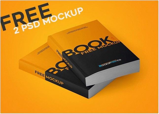 Paperback Book 2 PSD Mockup