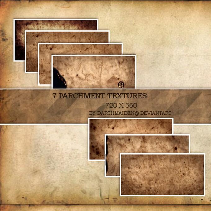 Parchment Textures