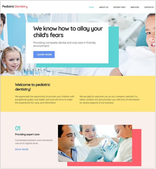 22 Best Dental Clinic Website Templates Themes 2018 Templatefor