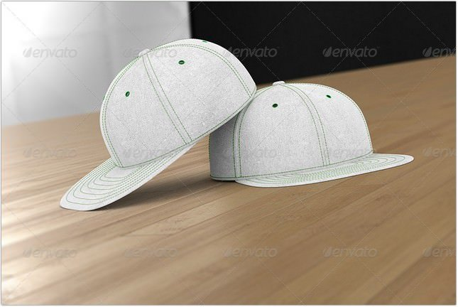 Professional Baseball Cap Mock-up psd