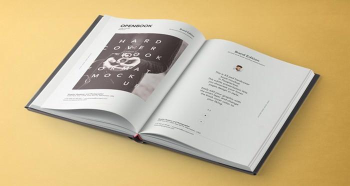 Psd Dust Jacket Book Mockup Vol3