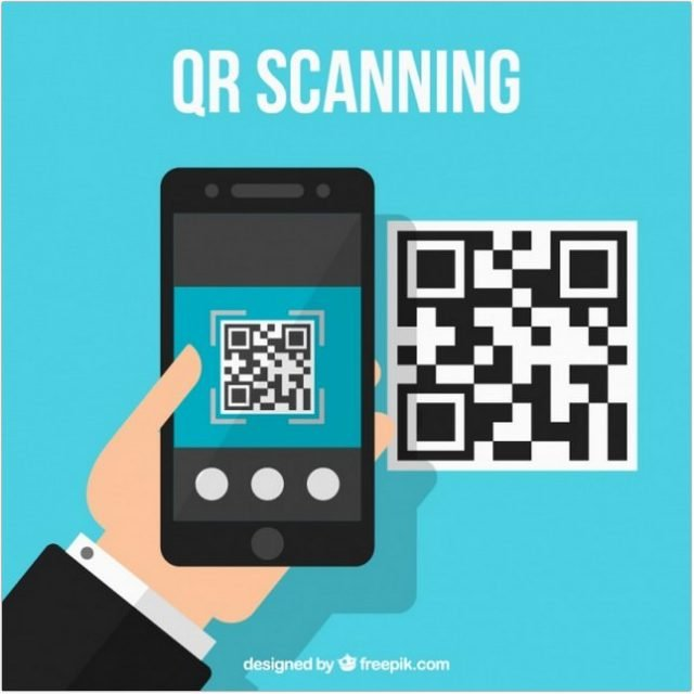 Qr Code Technological Background - Free