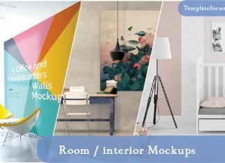 Room interior Mockups