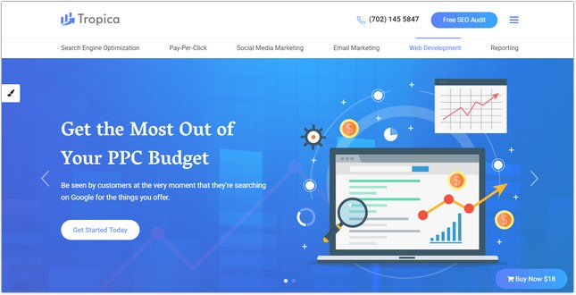 Template for SEO and Digital Agency