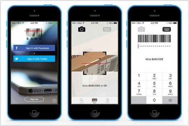 Scan App PSD