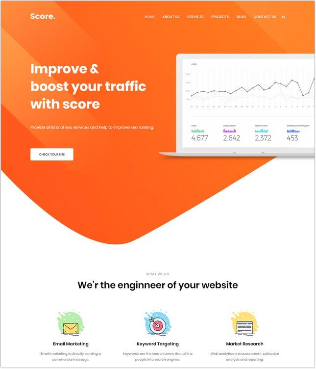 /Digital Agency HTML5 Template