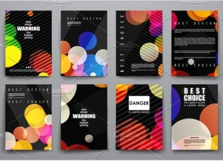Set of Abstract Brochure