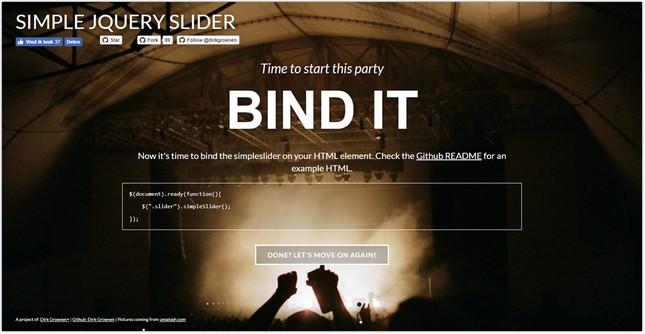 Simple Slider plugin