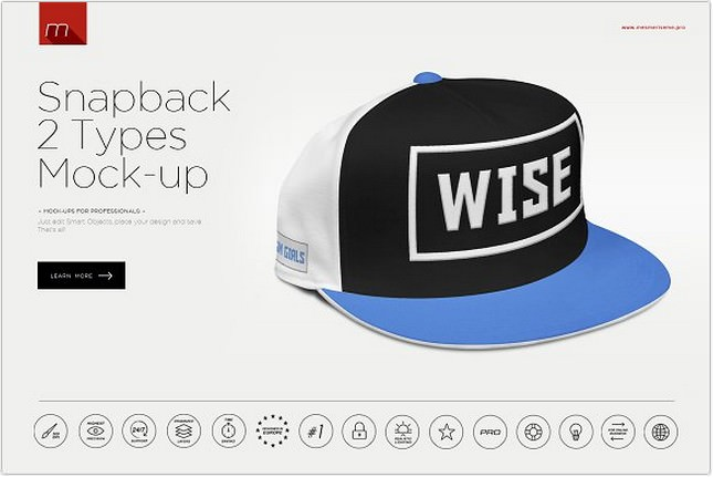 Snapback Cap Mock-up