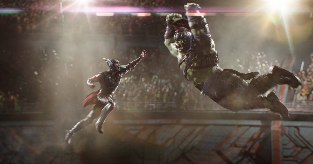1920 × 1011 Thor Ragnarok Fight hulk wallpaper