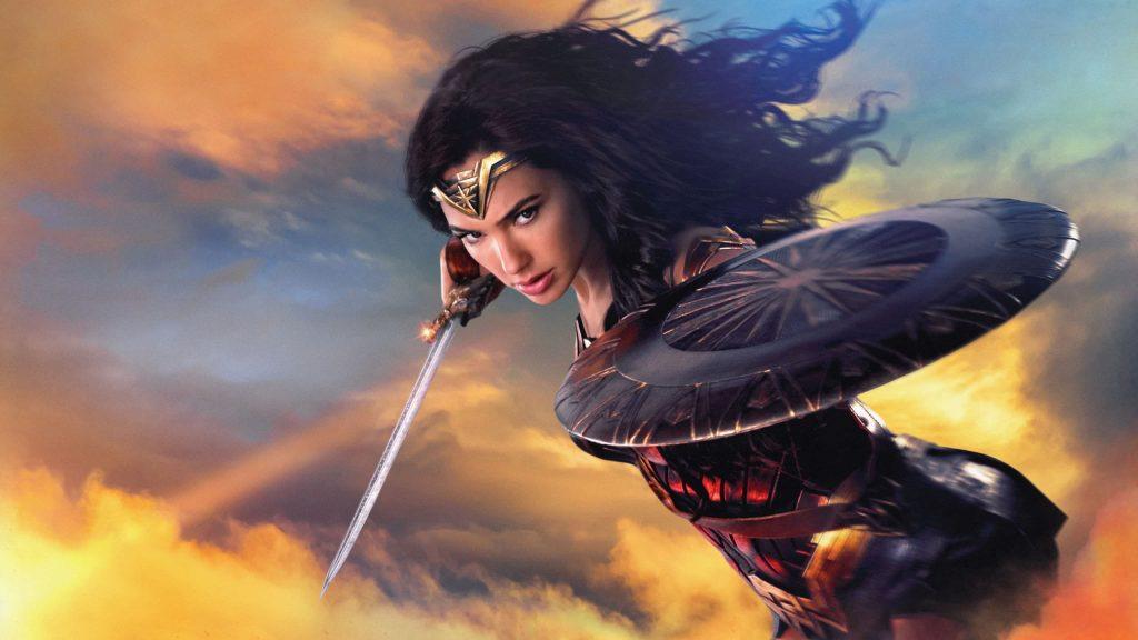 2560 × 1440 Wonder woman