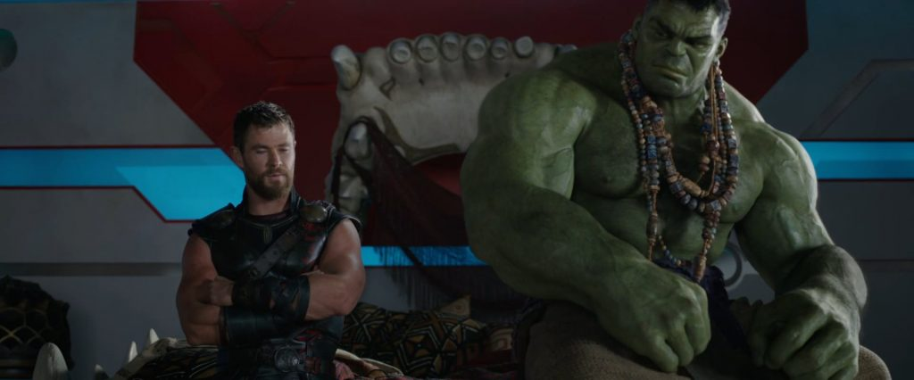 1920 × 798 Hulk and Thor Ragnarok hd image