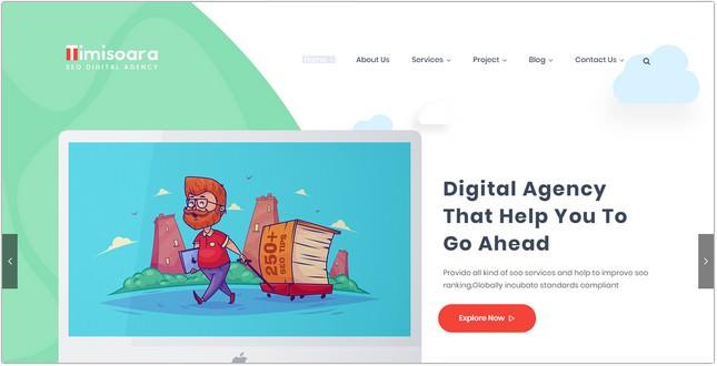 Timisoara - SEO Digital Agency HTML5 Template