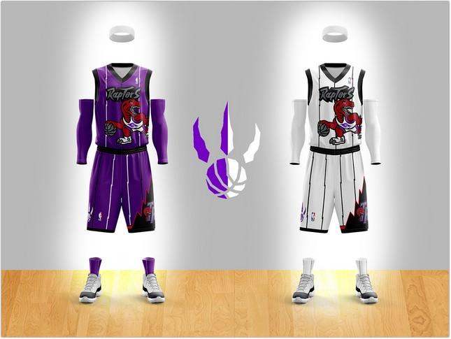 Toronto Raptors Jersey template