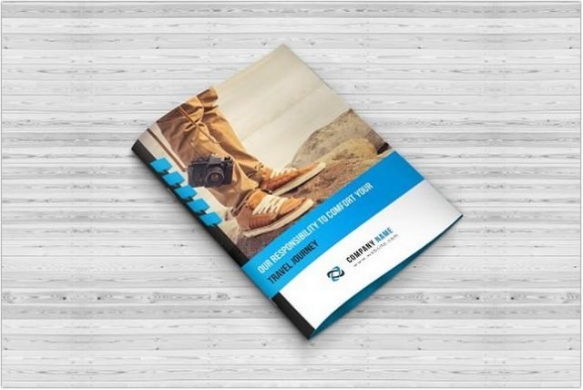 Travel Agency Bi-Fold Brochures